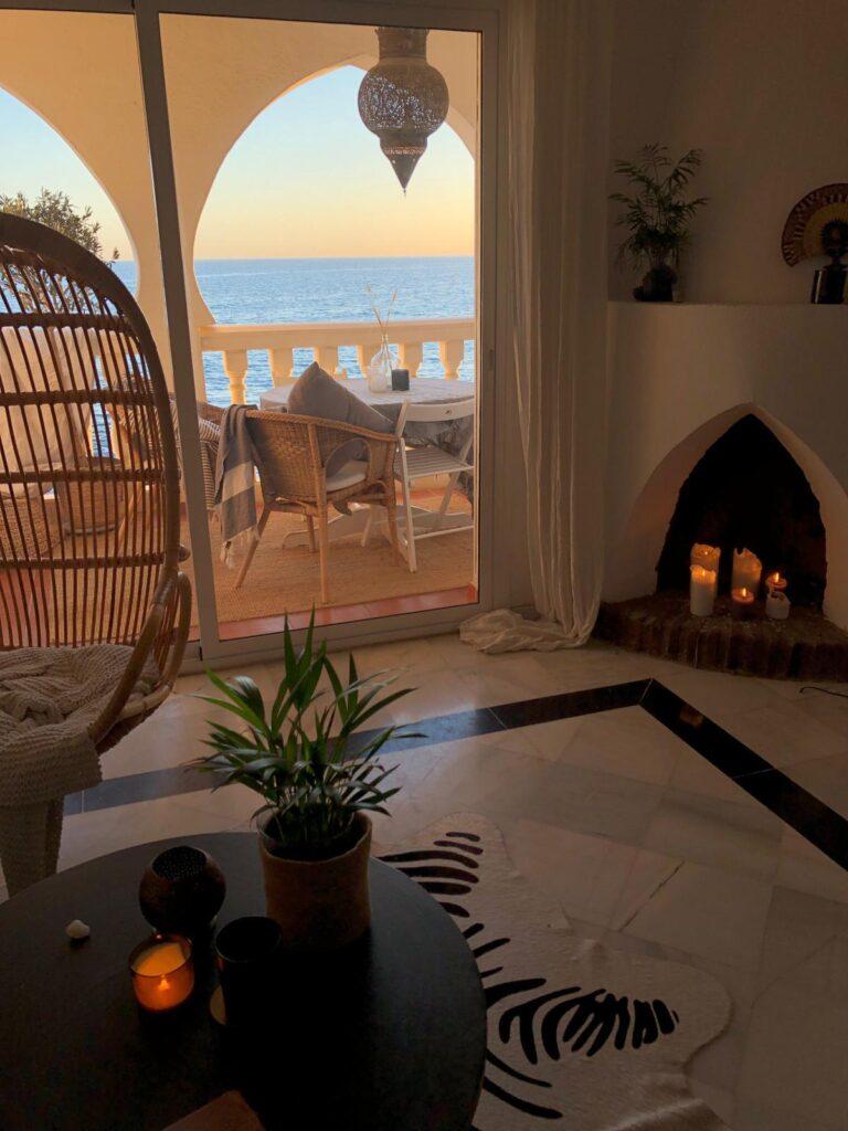 En lyxig takvåning i Marbella