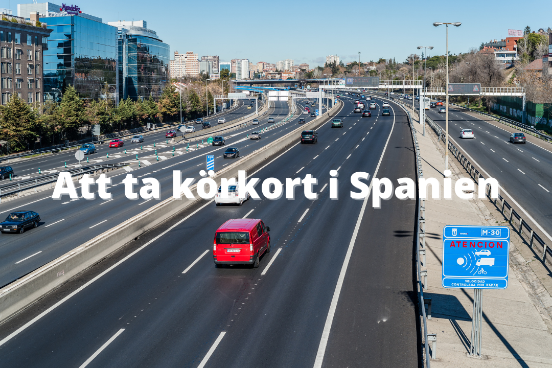 att ta körkort i spanien